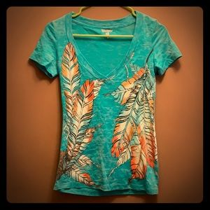 Wrangler feather top
